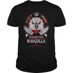 BOBADILLA, BOBADILLA T Shirt, BOBADILLA Tee https://www.sunfrog.com/Names/109311529-285392983.html?46568