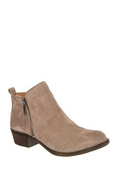 Lucky Women's Basel Boot, Brindle Suede Leather, Size 8 M US Lucky Brand  http