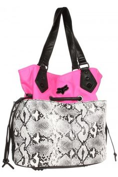 Fox Womens Day Glo Bucket Bag Pink