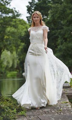 Lottie Dress with Catrin Shrug and Skirt by Stephanie Allin