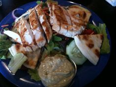 Betty's Fine Food and Spirits. Avocado Ceasar Dressing- MOST favorite.