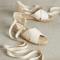 Buy it: Soludos Tied Espadrilles, $128 This sweet espadrilles (with just a little bit of lift) are the perfect choice for the pool or boardwalk. | CoastalLiving.com