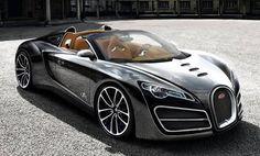 Worlds fastest car Bugatti