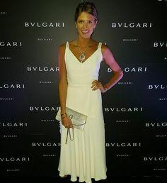"""Very special night with @bulgariofficial #bulgariMFW #ss16 #luxuryaccessories ❄"""