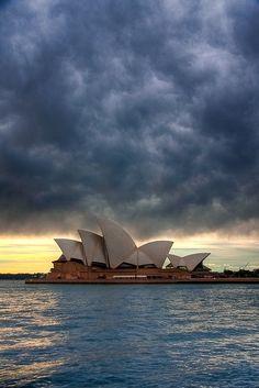 Amazing View of Sydney Opera House (10+ Pics) Sé que estaré allí un día, así sea de visita. SYDNEY estas en la mira ♥
