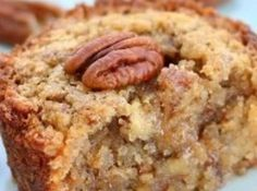 Pecan Muffins Recipe I might have pinned this already but it looks way too yummy not to pin again