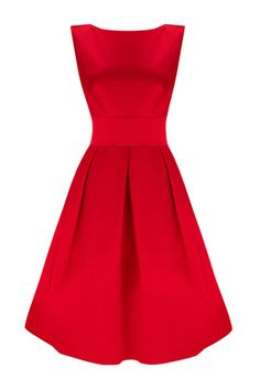 Gorgeous red satin Coast dress