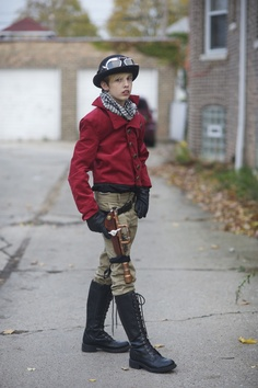 Lizz Sisson Steampunk Kids, Steampunk Clothing, Steampunk Fashion, Man Fashion, Kids Fashion, Steampunk Characters, Character Inspiration, Style Inspiration, Costumes Pictures