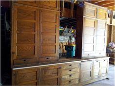 Attractive Kitchen 1920s Cabinet   ... My Husband Found An Original Set Of 1920 Kitchen
