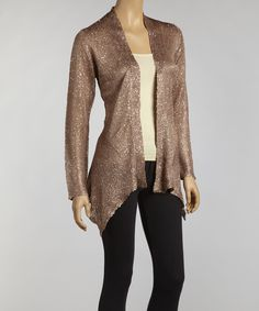 Take a look at this Rust Sparkle Duster on zulily today!