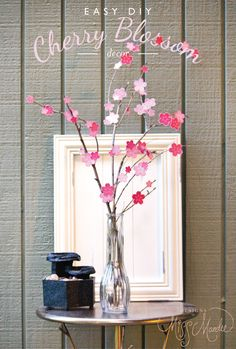 Designs By Miss Mandee: Easy DIY Cherry Blossom Decor
