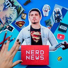 #scrapbooking #DIY #geek Nerd News é o canal do #YouTube que sempre tem ss últimas notícias do mundo nerd!