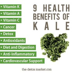 A green superfood! 9 health benefits of KALE