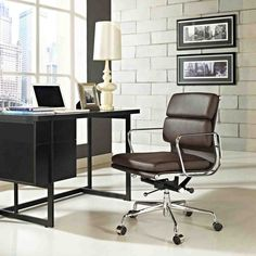 Eames Soft Pad Management Chair For Herman Miller An Extension Of