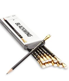 Palomino Blackwing Pencils 12-pack, $20jackspade.com I know I know, Designer Pencils, but look they are soooo cool!