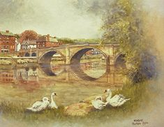 W129 Bewdley Bridge by christopher Hughes  ~  x