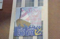 Bid Day at Auburn University