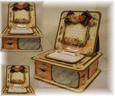 Trinket Box with 8 Drawers & Calendar - bjl