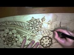▶ Longboard Pyrography (Wood Burning) - YouTube