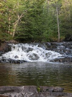 Robertson Creek Falls Algoma District North Of Sault Ste Marie - 10 things to see and do in the algoma district