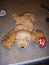 706a7132281 Spunky the Cocker Spaniel · Beanie BabiesTy ...