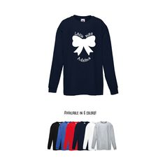 Girls shirt, little miss shirt, longsleeve shirt, personalized shirt, name shirt, girl birthday shirt, customizable girl shirt, bow shirt by KMLeonBE on Etsy
