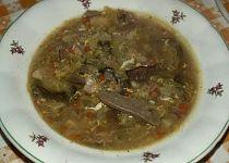 Kapustová polévka s houbami Beef, Food, Meat, Essen, Meals, Yemek, Eten, Steak