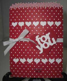 Mini Treat Bag, Stampin' Up! Valentines