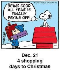 Being good pays off Snoopy Christmas Comics, Days To Christmas, Peanuts Christmas, Charlie Brown Christmas, Charlie Brown And Snoopy, Christmas Countdown, Christmas Ideas, Christmas Images, Holiday Ideas