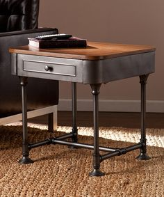 Look at this Edison End Table on #zulily today!