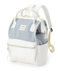 Anello X The Emporium Leather/Canvas Backpack