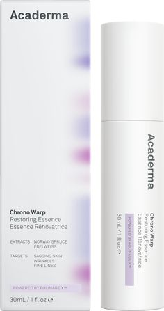 The Restoring Essence is an advanced serum that revives skin elasticity and reduces the appearance of fine lines. Novel active ingredients disrupt the production of advanced glycation end-products (AGEs), a major factor causing aging skin. Skin Tightening, Skin Firming, Smaller Pores, Norway Spruce, Beauty Packaging, Cosmetic Packaging, Wrinkled Skin, Wrapping, Packaging