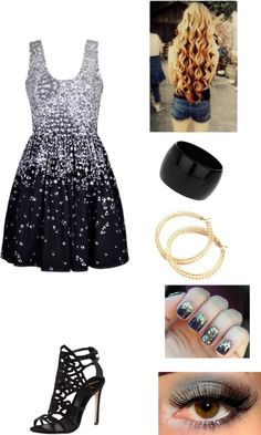 """""""New Years eve party outfit:)"""" by a-lautner ❤ liked on Polyvore"""