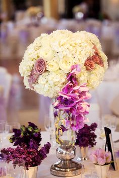 25 Stunning Centerpieces - Part 4 - Belle the Magazine . The Wedding Blog For The Sophisticated Bride