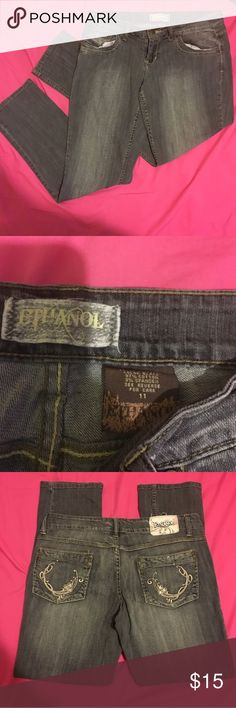 ETHANOL Gray jeans. ETHANOL gray jeans                                              Perfect condition; look brand new                        Ready for wear 👖 Jeans Straight Leg