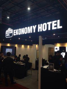 제31회 프랜차이즈 산업박람회  유일하게 호텔 프랜차이즈로 참가하는  이코노미호텔.