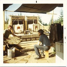 Citation: Photograph of Fritz Dreisbach at Pilchuck, 1971 / unidentified photographer. Francis Sumner Merritt papers, Archives of American Art, Smithsonian Institution.