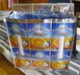 aus capri-sonnetüten oder aus kaffeverpackungen taschen herstellen... auf anfrage!