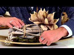 Tray opmaken met foambloemen en natuurlijke materialen met Romeo Sommers - YouTube