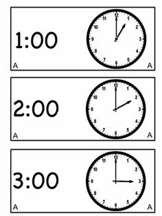 Freebie its snowtime telling time to the hour and half hour telling time to the hour and half hour winter pinterest snow happy new year and digital clocks pronofoot35fo Image collections