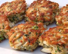 best healthy recipes in the world: MARYLAND CRAB CAKES