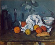 Still Life With Fruit by Paul Cézanne