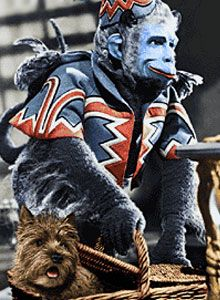 The flying monkeys from The Wizard of Oz - Actually one of my all time favorite movies but still...  Nightmare, anyone????