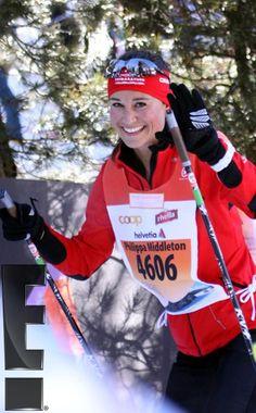 3/9/2013: Pippa competes in the Engadin Skimarathon (St. Moritz, Switzerland)