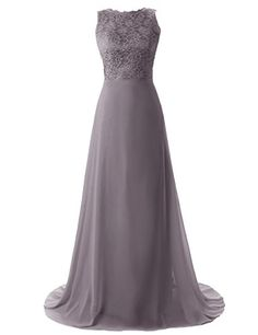 Dressystar Lace Chiffon Evening Formal Party Ball Gown Prom Bridesmaid Dress Size 2 to 26W Size 2 Grey Dressystar http://www.amazon.com/dp/B00KXWLKO0/ref=cm_sw_r_pi_dp_wulMvb1GB31RX