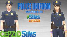 ModTheSims - The Sims Freeplay Police Uniform