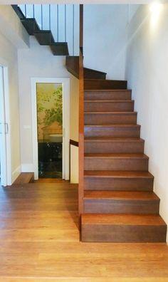 escalera de madera www.polosequerosarquitectos.com