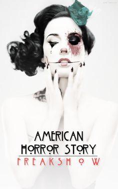 Imagem de american horror story, ahs, and freak show