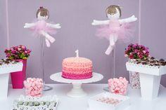 Aniversário Lavínia - Tema Bailarina, by Make a Party Festas Infantis