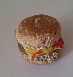 Miniature burger!